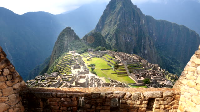 machu picchu 4k - latin american civilizations stock videos and b-roll footage
