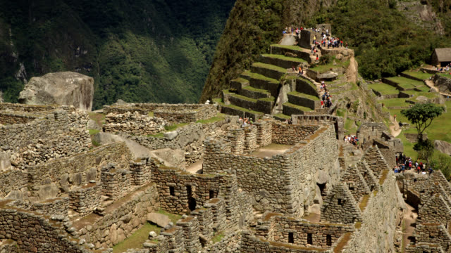 Machu Picchu Central Buildings timelapse