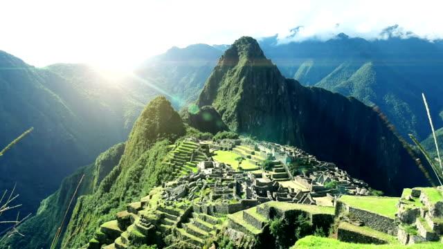 Machu Picchu Time Lapse 4K