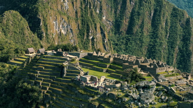 Machu Picchu - timelapse series