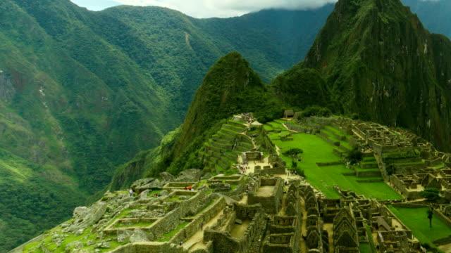 Machu Picchu Timelapse