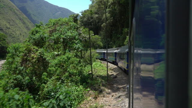 Machu Picchu train outside