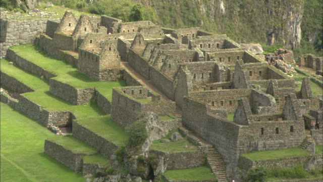 ws, ha, machu picchu, urubamba valley, peru - archaeology stock videos & royalty-free footage