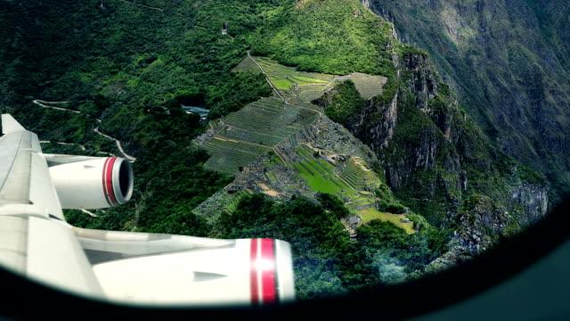 Machu Picchu - View From Airplane Window
