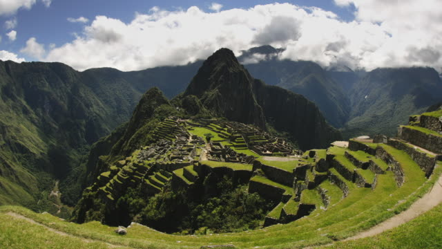 T/L, WS, FISH EYE, Machu Pinch, Urubamba, Peru