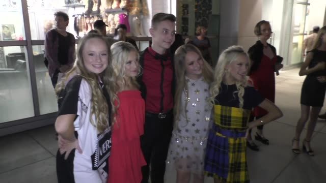 mackenzie couch kami couch katie couch pressley hosbach at the high strung free dance premiere at arclight cinemas in hollywood on october 10 2019 at... - arclight cinemas hollywood stock videos & royalty-free footage