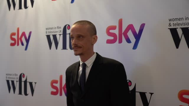 mackenzie crook at the women in film and television awards on december 7 2018 in london england - television awards stock videos & royalty-free footage