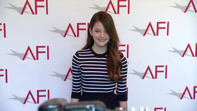 Mackenzie Foy at 2015 AFI Awards Luncheon at The Four Seasons Hotel on January 09 2015 in Beverly Hills California