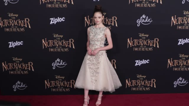 Mackenzie Foy at the The Nutcracker and the Four Realms World Premiere at Dolby Theatre on October 29 2018 in Hollywood California