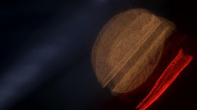 makro abstrakte autolichter reflektiert - rohmaterial stock-videos und b-roll-filmmaterial