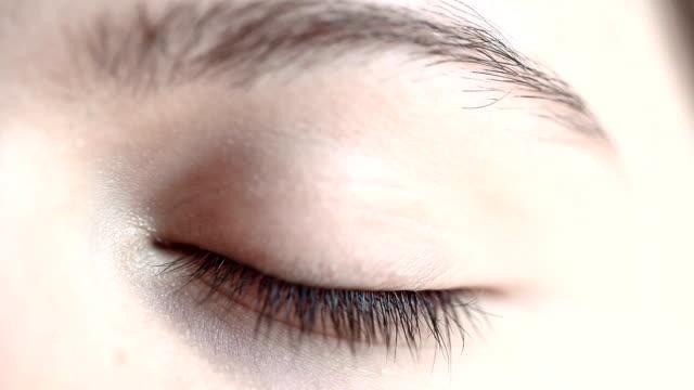 HD : マクロクローズアップ;人間の眼