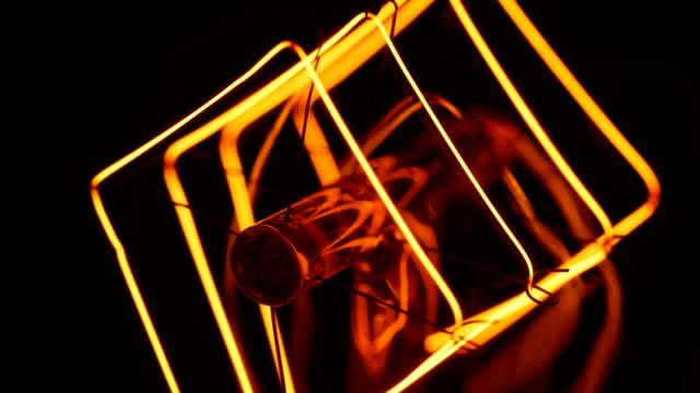 macro light bulb filament - compact fluorescent light bulb stock videos & royalty-free footage