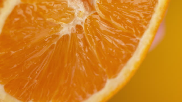 stockvideo's en b-roll-footage met macro orange - sappig