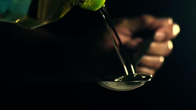 Makrofotografie: Speiseöl