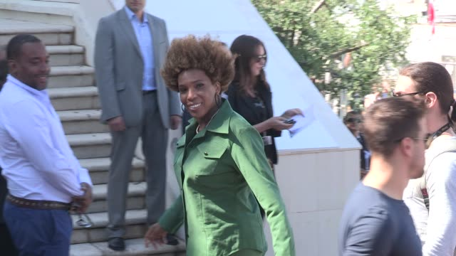 macy gray and lee daniels at 65th cannes film festival 2012 sighted: macy gray and lee daniels at palais de festivals on may 24, 2012 in cannes,... - メイシー グレイ点の映像素材/bロール