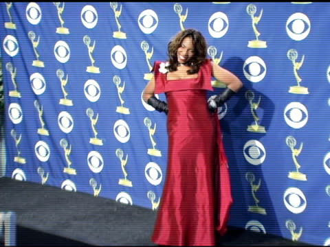macy gray at the 2005 emmy awards press room at the shrine auditorium in los angeles, california on september 19, 2005. - macy gray stock videos & royalty-free footage