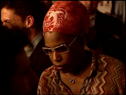 macy gray at the premiere of 'the human stain' at arclight cinemas in hollywood, california on october 21, 2003. - メイシー グレイ点の映像素材/bロール