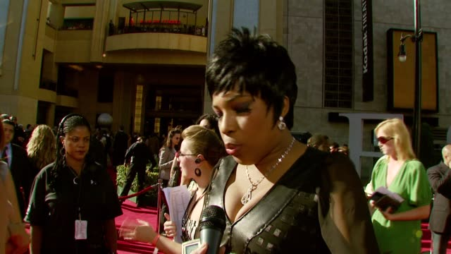 vídeos de stock, filmes e b-roll de macy gray on performing a sly stone song tonight and all the athletes she has a crush on at the 2007 espy awards show at the kodak theatre in... - espy awards