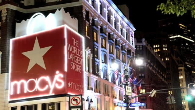 Macy's Department Store World's Largest Store Herald Square 34th Street Midtown Manhattan New York City USA