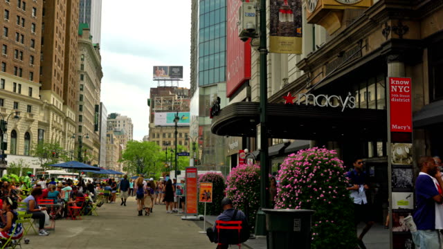Macy's on Broadway and 34th street