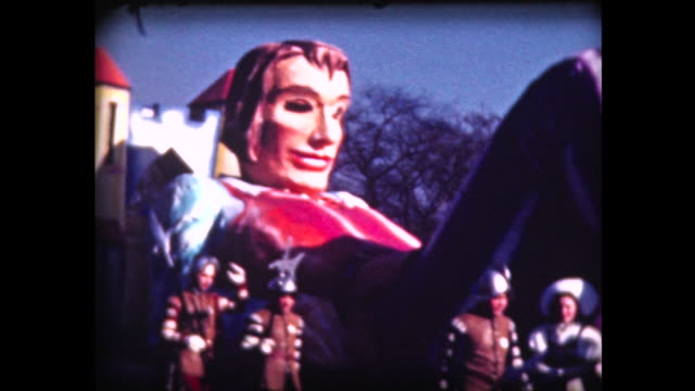 1939 macy's parade 4 (gulliver) - uncle sam stock videos & royalty-free footage