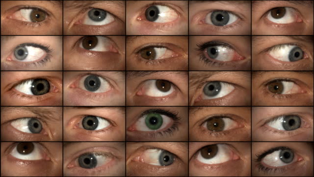 mad eyes (hd 1080) - eyeball stock videos and b-roll footage
