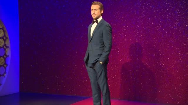 broll madame tussauds reveals ryan gosling at madame tussauds on july 23 2014 in london england - madame tussauds stock videos & royalty-free footage