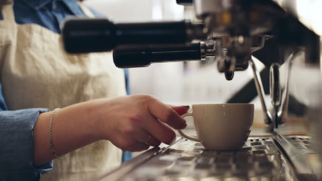made for a coffee lover by a coffee lover - machinery stock videos and b-roll footage