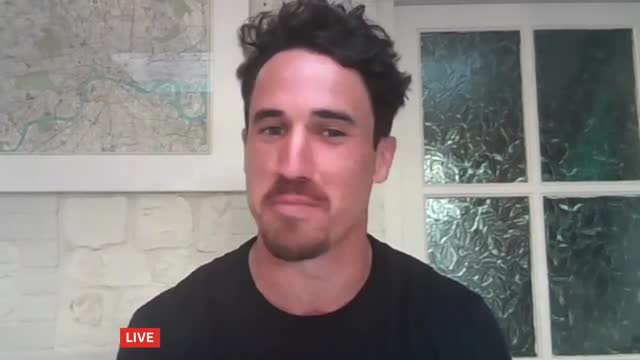 'made in chelsea' star josh patterson runs four marathons in 24 hours; england: east anglia: norfolk: int josh patterson live 2-way interview sot... - news not politics stock videos & royalty-free footage