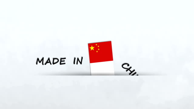 made in china - label stock videos & royalty-free footage