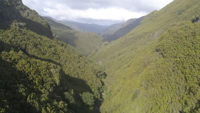 vídeos y material grabado en eventos de stock de madeira portugal aerial - acantilado