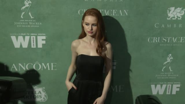 madelaine petsch at the 11th annual women in film preoscar cocktail party at crustacean on march 02 2018 in beverly hills california - annual event stock videos & royalty-free footage