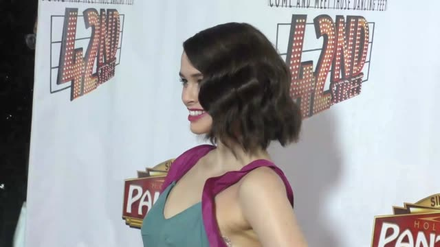 Madeleine Coghlan at the Opening Night Of 42nd Street at the Pantages Theatre in Hollywood in Celebrity Sightings in Los Angeles