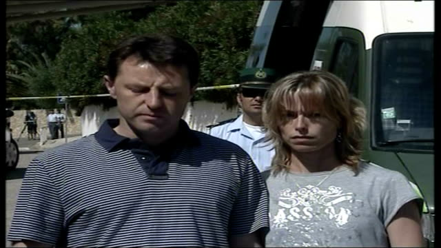parents maintain hope via ebu gerry mccann statement to press sot we have now seen at first hand how hard the police are working in the search for... - madeleine mccann video stock e b–roll