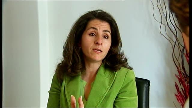 madeleine mccann abduction: police criticised; int dr graca palhau working at desk dr graca palhau interview sot - マデリン・マクカーン失踪事件点の映像素材/bロール