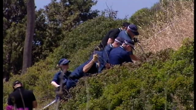 British police ask for more time on search site PORTUGAL Praia da Luz EXT GVs British police searching scrub land near to where Madeleine McCann went...