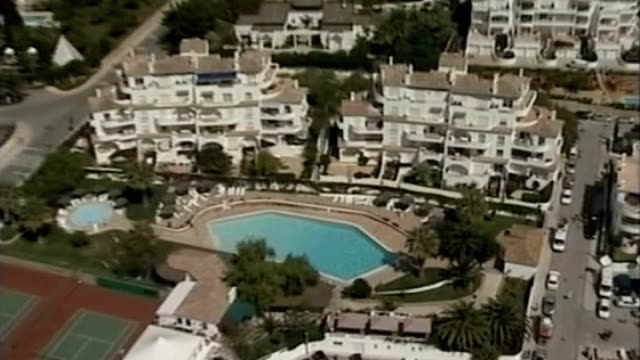 British police examine mobile phone records 652007 PORTUGAL Algarve Praia da Luz VIEW / AERIAL Hotel complex from where Madeleine McCann was abducted...