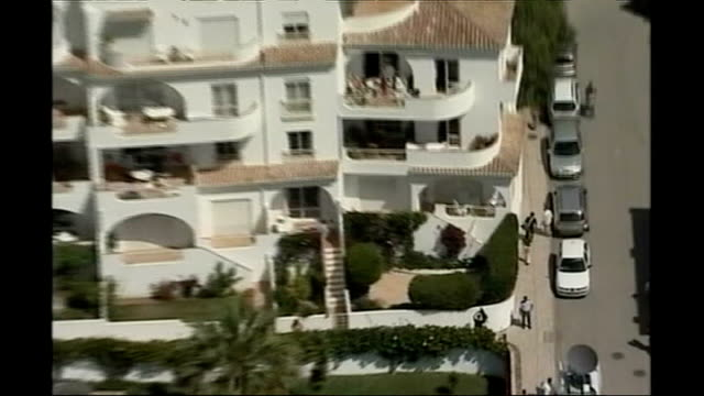 Christmas appeal 2007 PORTUGAL Algarve Praia da Luz of holiday complex where Madeleine went missing