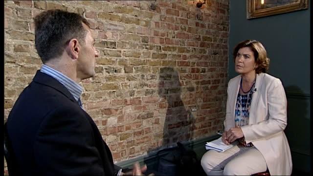 madeleine mccann disappearance: gerry mccann encouraged by new evidence; england: london: int gerry mccann interview sot - there is new evidence and... - gerry mccann stock-videos und b-roll-filmmaterial