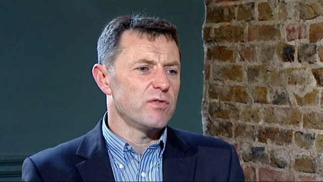 madeleine mccann disappearance: gerry mccann encouraged by new evidence; london: int gerry mccann interview sot - the press had widespread headlines... - missing people stock videos & royalty-free footage