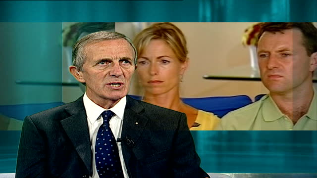 family return to uk england london int kirby interview sot - madeleine mccann stock videos & royalty-free footage