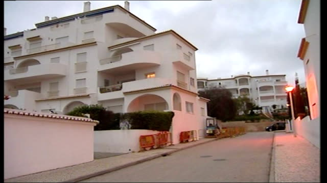 Picture of possible suspect released PORTUGAL Algarve Praia da Luz EXT Empty holiday resort