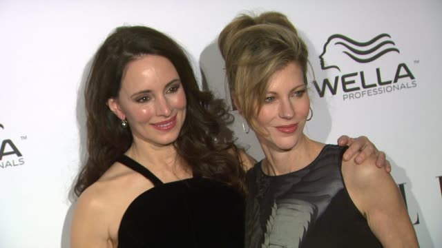 Madeleine Stowe Jenna Elfman at Elle's 2nd Annual 'Women In Television' Celebration 1/24/2013 in West Hollywood CA