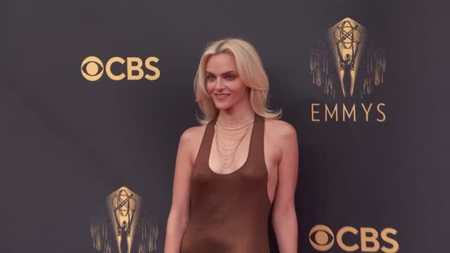 madeline brewer arrives to the 73rd annual primetime emmy awards at l.a. live on september 19, 2021 in los angeles, california. - emmy awards stock videos & royalty-free footage