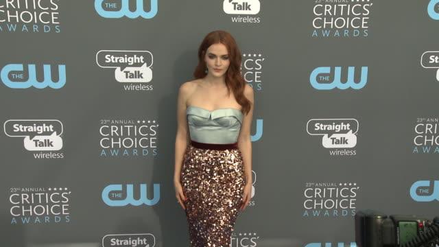 Madeline Brewer at the 23rd Annual Critics' Choice Awards at Barker Hangar on January 11 2018 in Santa Monica California