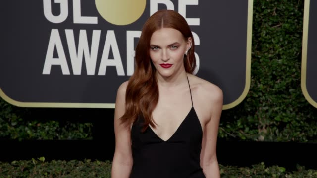madeline brewer at the 75th annual golden globe awards at the beverly hilton hotel on january 07, 2018 in beverly hills, california. - the beverly hilton hotel stock videos & royalty-free footage