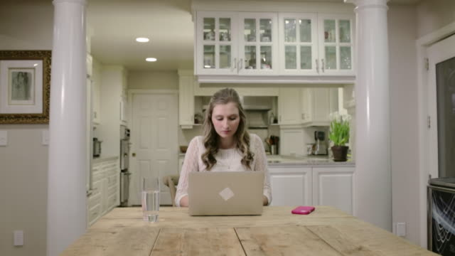 madison at the ross home - one teenage girl only stock videos & royalty-free footage