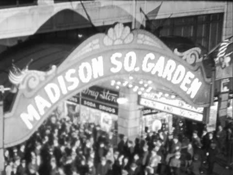 vídeos de stock e filmes b-roll de madison square garden - madison square garden