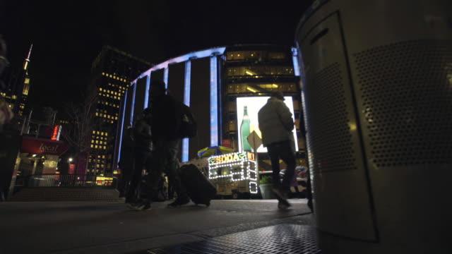 madison square garden - new york city penn station stock videos & royalty-free footage