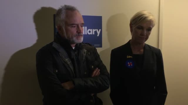 planned parenthood national president, cecile richards and west wing star bradley whitford taking questions from the press - bradley whitford stock videos & royalty-free footage